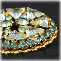 1930s+Czech+brooch+in+Pale+Blue+by+JunkboxTreasures+on+Etsy,+$48.00