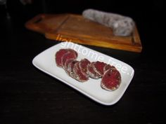 saucisson sec leger maison ! Charcuterie, Tapas, Beef Jerkey, Homemade Sausage Recipes, Canning Food Preservation, Smoking Meat, Some Recipe, Special Recipes, Canning Recipes
