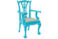 Robins egg blue Chippendale