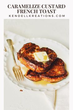 Best French Toast, Creamed Eggs, Food Goals, Custard, Cinnamon, Caramel, Sugar, Dishes, Cooking