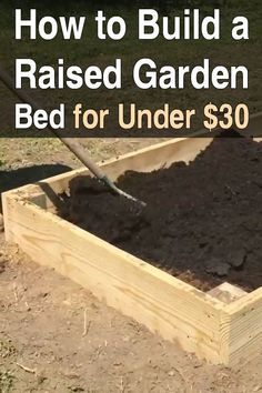 There are many benefits to raised bed gardens, and they're not very difficult to make. You just need some lumber, peat moss, compost, and a little time.