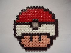 Pokeball mushroom hama beads by jaffacake940 on deviantART