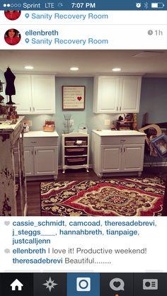 Craft room envy!