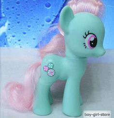 MY Little Pony Friendship IS Magic G4 Minty Figure Green 3 2"