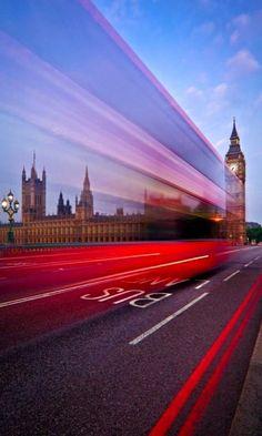 Bus Lane.. London (by Renee Doyle)