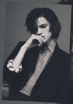 Fashionloveskarl: Erin Mommsen from Jies Cleodore, . Fashionloveskarl: Erin Mommsen of Jies Cleodore, Beautiful Boys, Pretty Boys, Cute Boys, Beautiful People, Erin Mommsen, Teenager Mode, Portrait Photography, Fashion Photography, White Photography