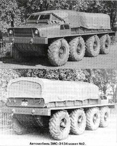 Beasts on Wheels, a Russian military 8x8