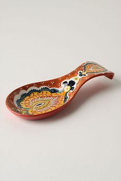 Paisleys Spoon Rest  #anthropologie