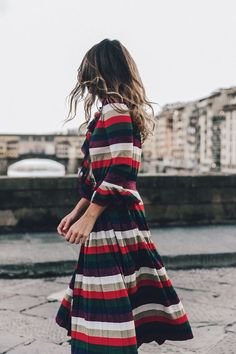 25 Vestidos rayados para este verano