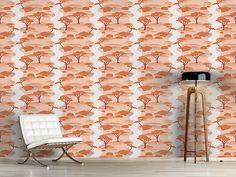 Design #Tapete Japanischer Garten Japan, Curtains, Shower, Prints, Self Adhesive Wallpaper, Asia, Wall Papers, Rain Shower Heads, Blinds