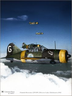 Finnish Brewster-239 BW-354 over Lake Tikshozero 1942_04