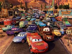 Day 1: favorite movie: Cars. This is the one that I would never get tired of. Cars will always be special to me because it was the first movie I ever saw in a theatre. plus I love the characters(especially Lightning), the plot, and the music SO MUCH. I seriously cannot get enough of this movie. Whenever it comes on I have to stop what I'm doing and WATCH IT. Same with Cars 2.