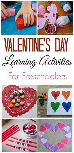 Preschooler Valentine's Day Crafts