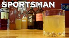 The Sportsman in a modern cocktail made with Japanese Whisky, homemade Lime Cordial, fresh Grapefruit Juice, fresh Lemon Juice and a dash of Campari that is ...