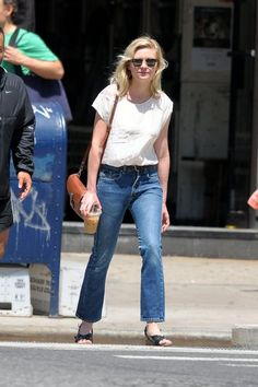 Kirsten Dunst wearing Ray-Ban Clubmaster Sunglasses
