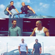 Late Paul Walker :( & Van Deisal