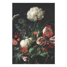KEK Amsterdam Behang Golden Age Flowers l - 4-baans - afbeelding 1
