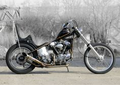 Knucklehead chopper   (Source: the-ghost-darkness)
