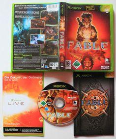 XBOX Fable für Xbox in OVP!Ansehen!