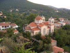 Vresthena, Greece in Laconia, Peleponese