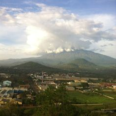 Mt Meru, Arusha - Tanzania. Tanzania is beautiful. Went there in 1988 and it's one my favorite places in all the world!