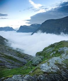 Above the Clouds - Norway
