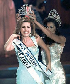 The controversy that gained worldwide attention during Miss Universe 1996, Alicia Machado of Venezuela's, reign was that she gained too much weight.
