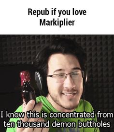 Repub if you love Markiplier - Laughing my assignment off