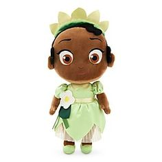 Disney Toddler Tiana Plush Doll - Princess and the Frog - Small - 12'' | Disney…