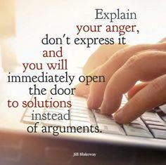 Als je jouw boosheid uitlegt i.pv. uitdrukt, open je deuren naar mogelijkheden.