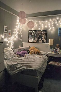 63 cool bedroom decor ideas for girls teenage (14)