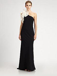 Carmen Marc Valvo - Flower Gown