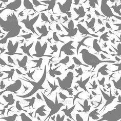 Birds Background - Backgrounds Decorative