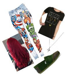 """""""A little Marvel outfit"""" by lizzy-hagler on Polyvore"""