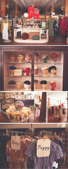 Vintage stores! Call me hipster if you must, but I love vintage.