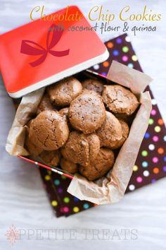 Gluten-Free Quinoa Coconut Flour Chocolate Chip Cookies Recipe