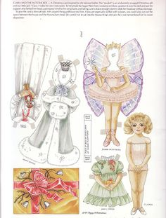 Paper Doll Greeting Cards by Peggy Jo Rosamond
