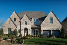 Highland Homes | Lawler Park 75s | Exterior | Frisco, TX | Plan 296