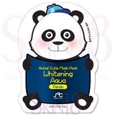 SOC Animal Cutie Mask Pack Whitening Aqua Panda