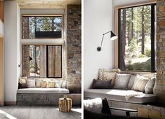 Sagemodern design. A New Rustic Contemporary Home In Lake Tahoe