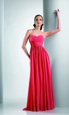 Elegant Chiffon A-line Sweetheart Empire Long/Floor-length Bridesmaid Dresses FSAU1409P917195 - formalsydney.com