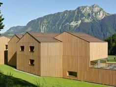 Maison du sport vaudois, Leyson Graem Mann & Patricia Capua-Mann