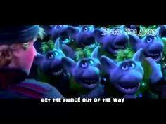 Fixer-Upper - Frozen - Sing-Along Frozen Soundtrack, Frozen Sing, Secondary Math, Fixer Upper, Middle School, Singing, Lyrics, Teaching, Music