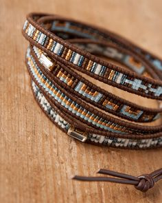 CHAN LUU beads bracelet I could totally make this!