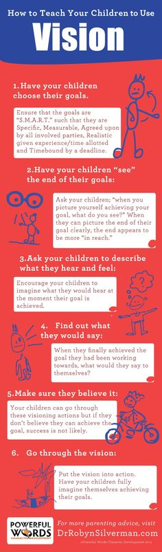 How to teach your children to use #vision #powerfulword #drrobyn http://drrobynsilverman.com/