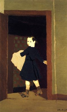 The LIttle Delivery Boy (Edouard Vuillard - circa 1891-1892)