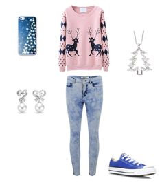 """""""2 Days Until Christmas"""" by searching-and-seeking ❤ liked on Polyvore featuring ONLY, Converse, Jewel Exclusive and Bling Jewelry"""