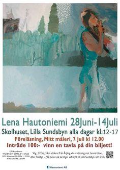 Akrylic on canvas 50 x 50 cm by  Lena Hautoniemi