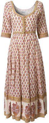 ShopStyle: Women's East Suki rose print long dress