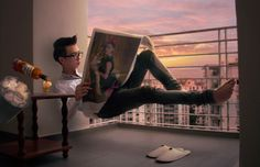 a56253b708d6f416a75766f3f306f5c91 30 Inspiring Examples of Levitation Photography